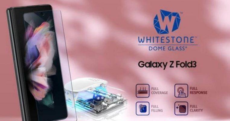 ฟิล์มกระจกกาวยูวี Whitestone Dome Glass for Samsung Galaxy Z Fold 3